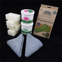 Mint & Unscented Blissfully Clean non-toxic cleaner Kit LG