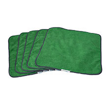 PerfectCLEAN Cloth, Green - 5-Pack