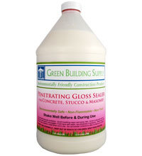 Green Building Supply, Penetrating Gloss Sealer