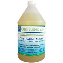 Green Building Supply, Penetrating Concrete Sealer
