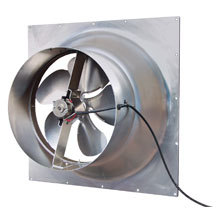 Natural Light Energy Systems Solar Attic Fan, Gable