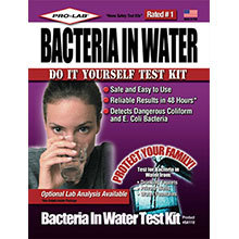 Bacteria in Water Test Kit