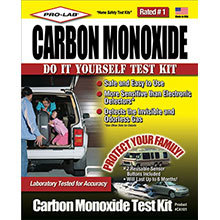 Pro-Lab, Carbon Monoxide Test Kit