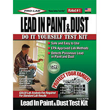 Lead in Paint and Dust Test Kit