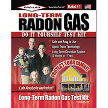 Pro-Lab, Long-Term Radon Gas Test Kit