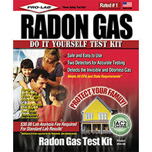 Pro-Lab, Radon Gas Test Kit