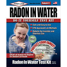 Pro-Lab, Radon in Water Test Kit
