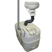 Sun-Mar, Composting Toilet, Central Flush System, Centrex 1001