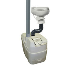 Sun-Mar, Composting Toilet, Central Flush System, Centrex 1000 NE