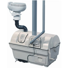Sun-Mar, Composting Toilet, Central Flush System, Centrex 2000  AC/DC