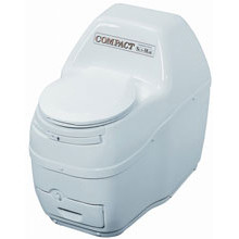 Sun-Mar, Composting Toilet, Compact, White