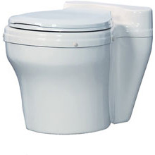 Sun-Mar, Composting Toilet, Central Dry System, Dry Toilet, White