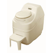 Sun-Mar, Composting Toilet, Excel, Bone