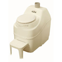 Sun-Mar, Composting Toilet, Excel NE, Bone