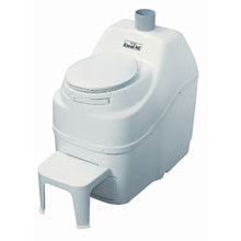 Sun-Mar, Composting Toilet, Excel NE, White