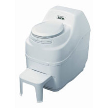 Sun-Mar, Composting Toilet, Excel, White