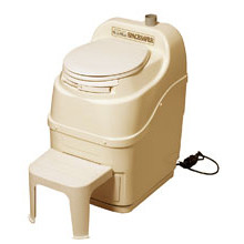 Sun-Mar, Composting Toilet, Spacesaver, Bone