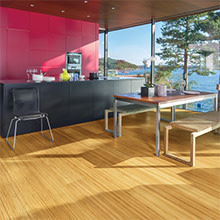 Sustainable Bamboo Flooring from Teragren Studio, Engineered, Wide Plank Solid Bamboo