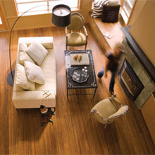 Sustainable Bamboo Flooring from Teragren Portfolio Naturals