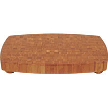 Totally Bamboo, Butcher Block Large Cutting Board, 19.5