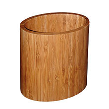 Totally Bamboo, Oval Utensil Holder, 6