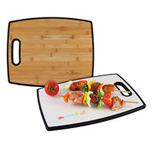 Totally Bamboo, Poly-Boo Cutting Board, 15