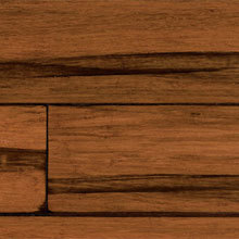 USFloors Expressions, Hand Scraped, Antique Black, Solid Locking, Strand Woven  Bamboo Flooring