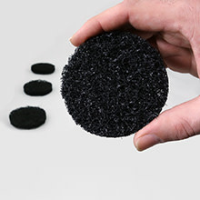 Application & Scrub Pad : Black x4