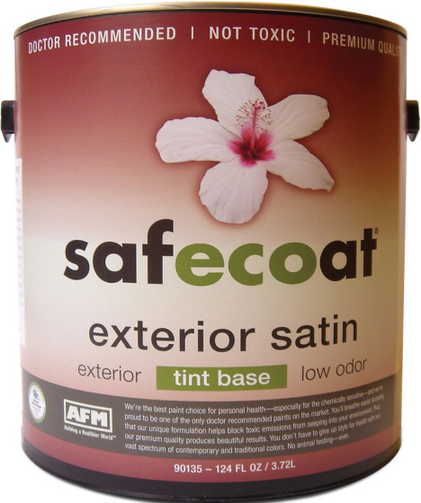 AFM SafeCoat All Purpose Exterior Satin Paint NonToxic Premium