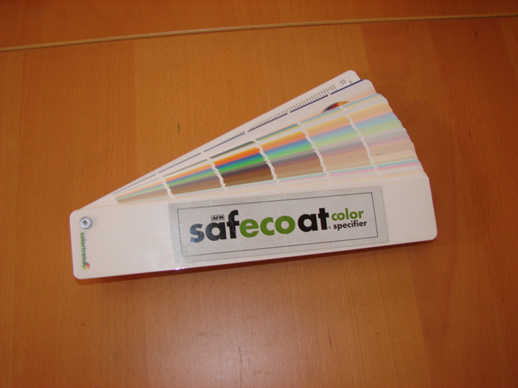AFM SafeCoat, Color Swatch Book/Paint Fan Deck - Refundable - 1000 ...