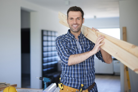 Happy Contractor Makes for Happy Job Site, makes for Happy End Result