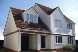 Detached home with a full Facelift uPVC makeover.