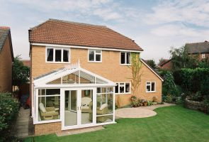 Conservatory With Gable End.