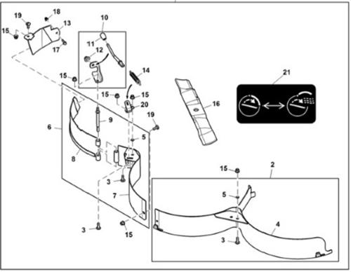 John Deere Grass Mulching Attachment BM24994