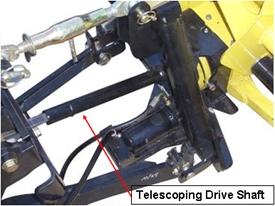 John Deere Universal Driveshaft LVB24956