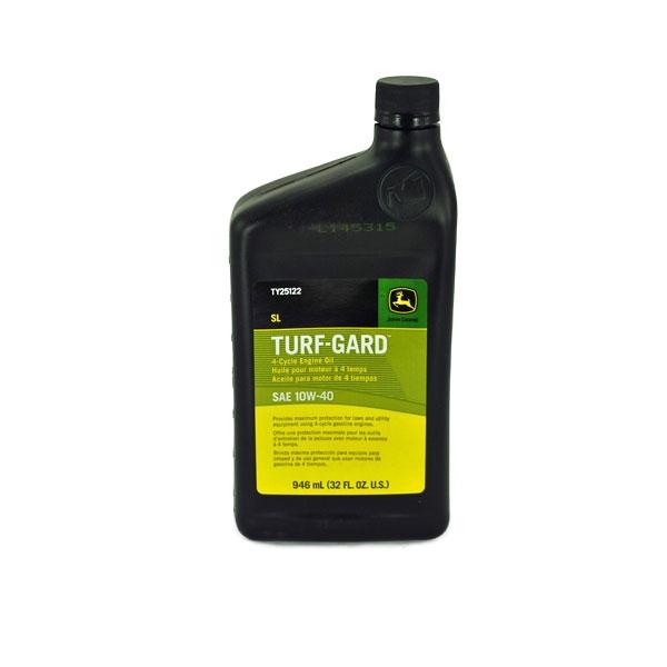 John Deere Turf-Gard Quart of Oil 10W40 TY25122
