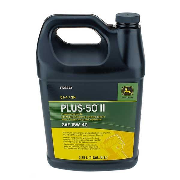 John Deere Plus-50 Ii Oil 15W40 Gallon TY26673