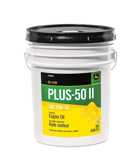 John Deere Plus-50 Oil 15W40 5 Gallon Bucket TY26679