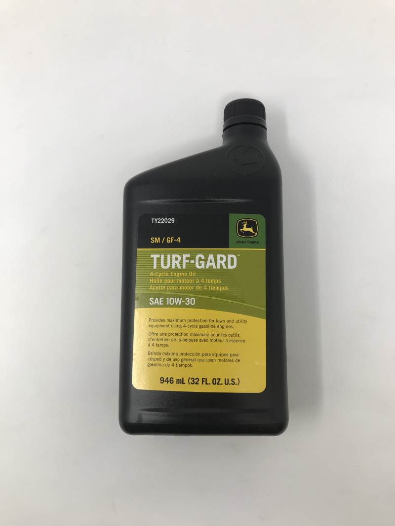 John Deere Turf-Gard Oil 10W30 SN/GF4 TY22029
