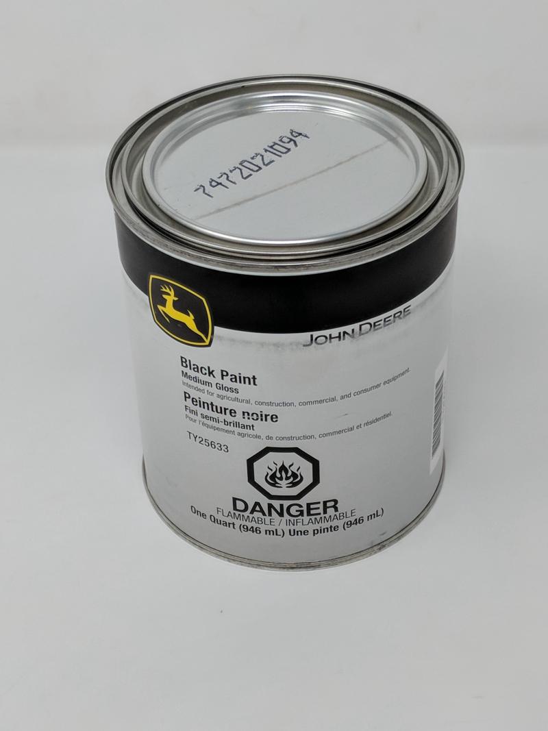 John Deere Black Paint TY25633