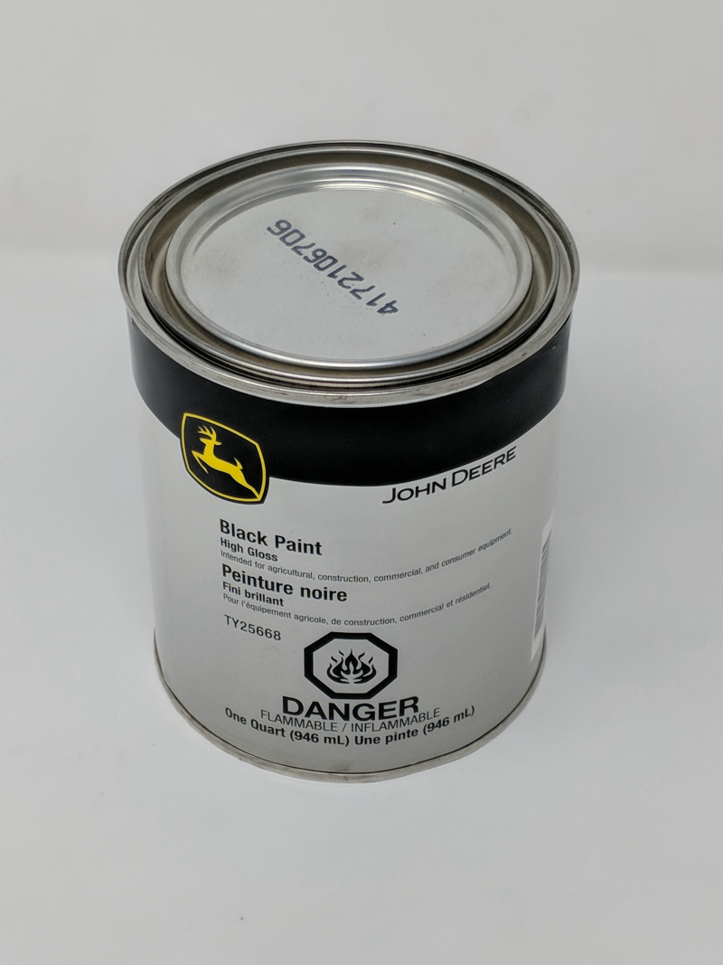 John Deere Black Paint TY25668