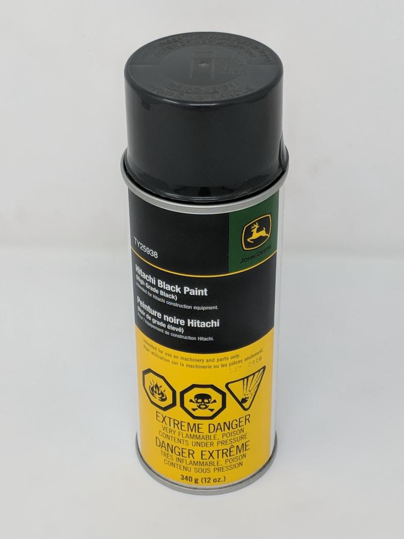 John Deere Black Spray Paint TY25938