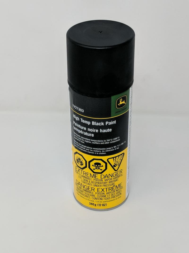 John Deere Black Paint TY27303