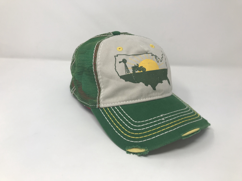 Farm Boy Eat Local Mesh Back Hat F23080733