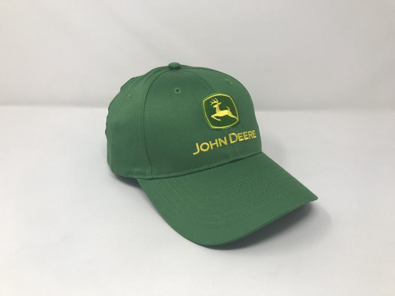 John Deere Green Twill Hat LP17596