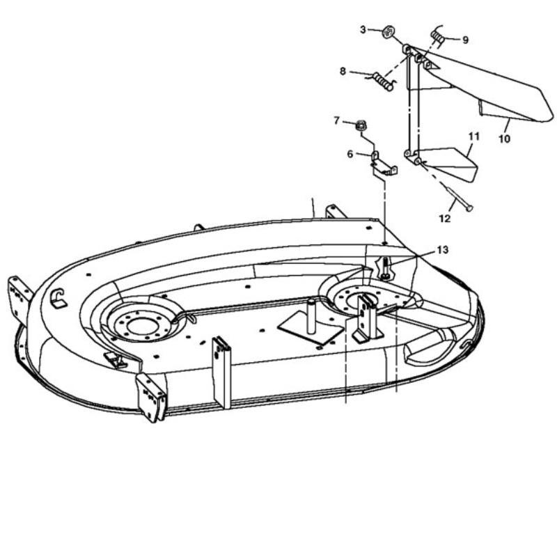 John Deere Mower Deck AM128570