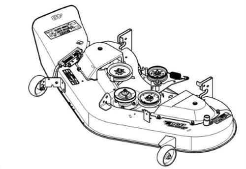 John Deere Mower Deck BG20825