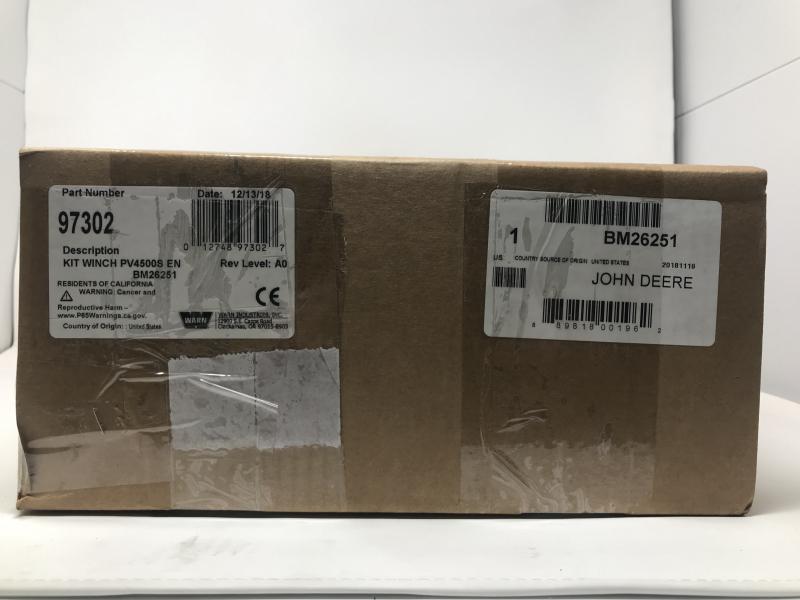 John Deere Winch Kit BM26251