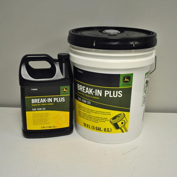 John Deere Break-In Plus Oil 10W30 TY26663