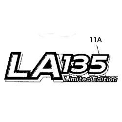 John Deere Label GX22727